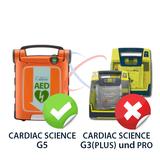 cardiac science g5 geschikt