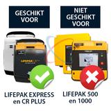 Physio-Control Lifepak CR-plus | CR-express tas_