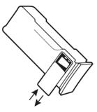 Defibtech 9V lithiumbatterij_