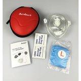 Ambu beademingsmasker softcase met zuurstofventiel (5 stuks)_