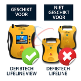 Defibtech Lifeline VIEW wandbeugel_