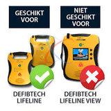 Defibtech Lifeline wandbeugel_