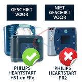 Philips Heartstart transparante wandbeugel_