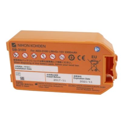Nihon Kohden Batterij voor AED-3100