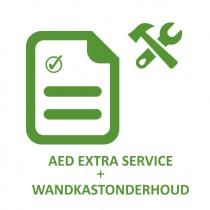 AED extra onderhoud + onderhoud buitenkast