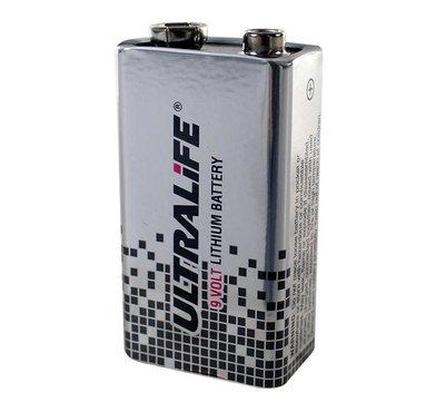 Defibtech 9V lithiumbatterij
