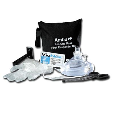 Ambu beademingsmasker met eerste-hulp kit (5 stuks)