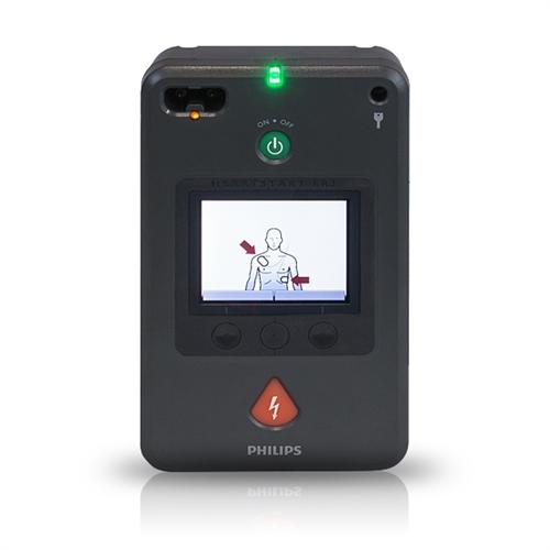   kleinste AED op de markt   geschikt voor kinderreanimatie   helder LCD-scherm   zeer innovatieve AED  